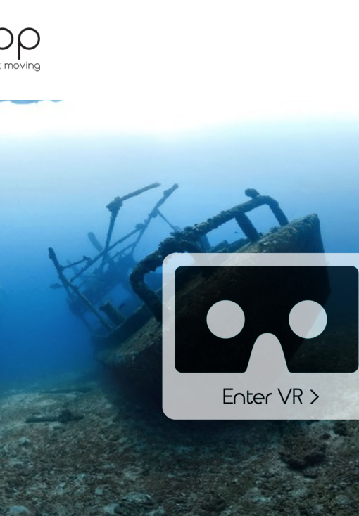 Enter vrapp virtual reality platform