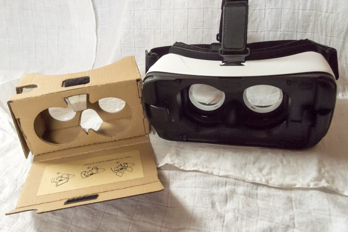 Try out Google Cardboard apps on Gear VR