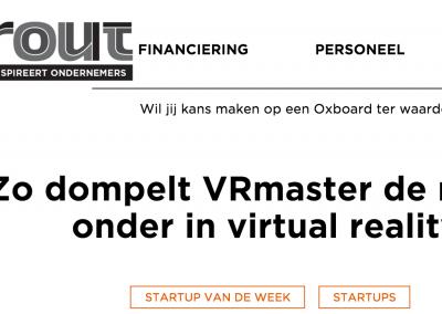 VRmaster startup van de week Sprout
