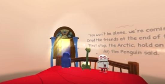 Samsung Bedtime Virtual Reality Stories – 360 Walkthrough
