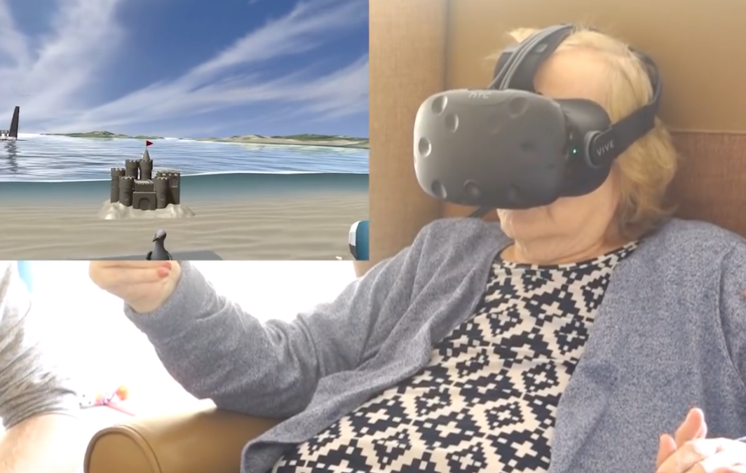 Virtual Reality the ultimate patient perspective machine