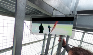 video screen in virtual reality