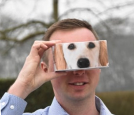 Training geleidehond | virtual reality 360° video en VRmaster cardboards