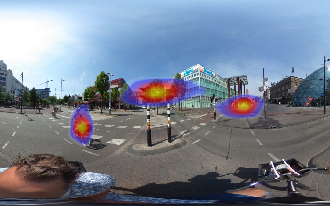 virtual reality heatmap