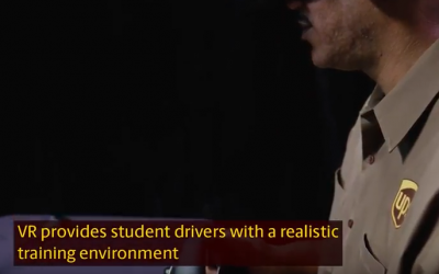 UPS Enhances Driver Safety Training With Virtual Reality