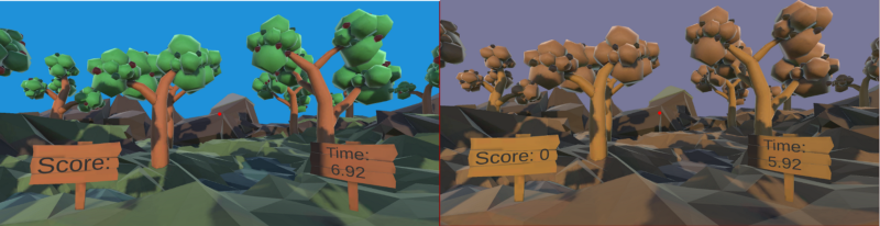 colorblind virtual reality game