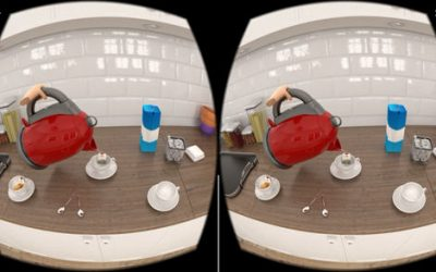 A Virtual Reality Walk Through Dementia