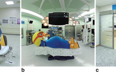 Virtual Reality tour alleviates anxiety of children undergoing surgery