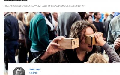 WebVR geeft impuls aan commercieel gebruik Virtual Reality