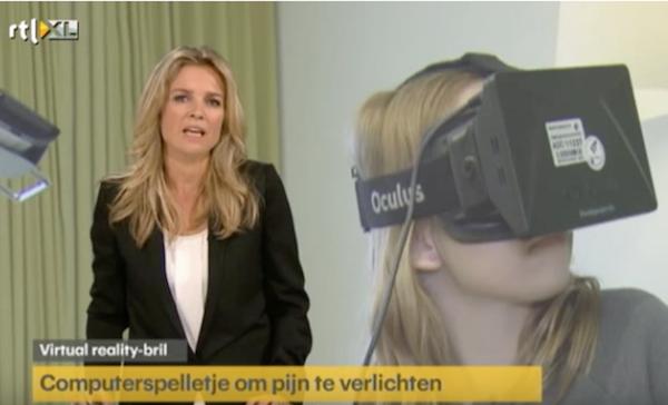 Pijnbestrijding met Virtual Reality
