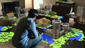 Mixed reality Hololens